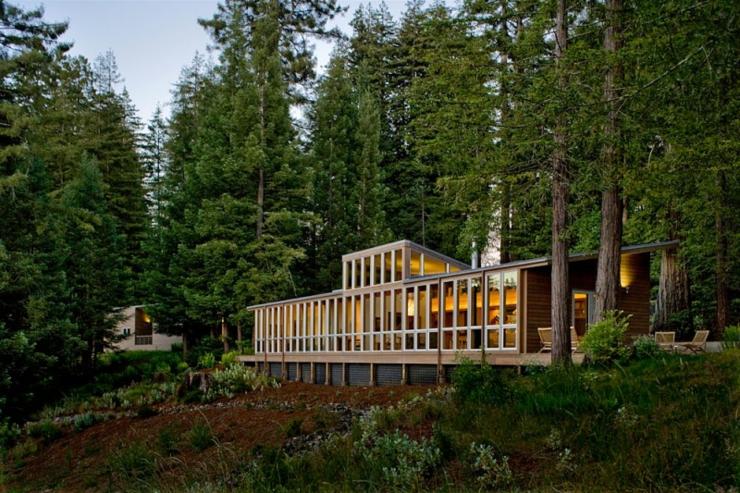 Maison en bois à Sebastopol en Californie | Vivons maison