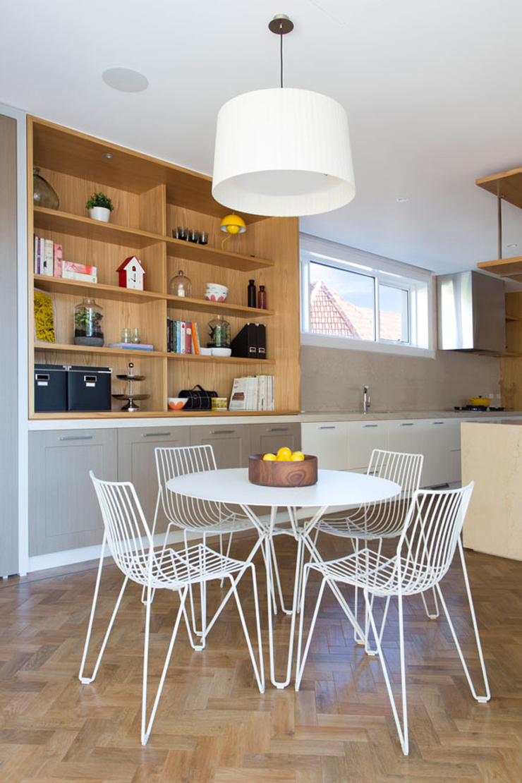 Belle maison moderne et citadine melbourne australie for Petite table pour cuisine