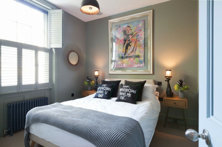 maison de ville la d co clectique londres vivons maison. Black Bedroom Furniture Sets. Home Design Ideas