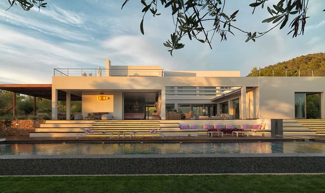 Magnifique villa de r ve l architecture contemporaine - Residence de vacances gedney architecte ...