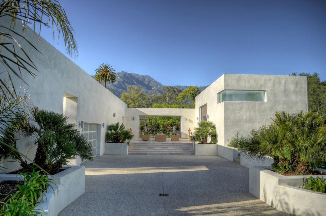 Moderne Maison De Prestige Santa Barbara En Californie Vivons Maison