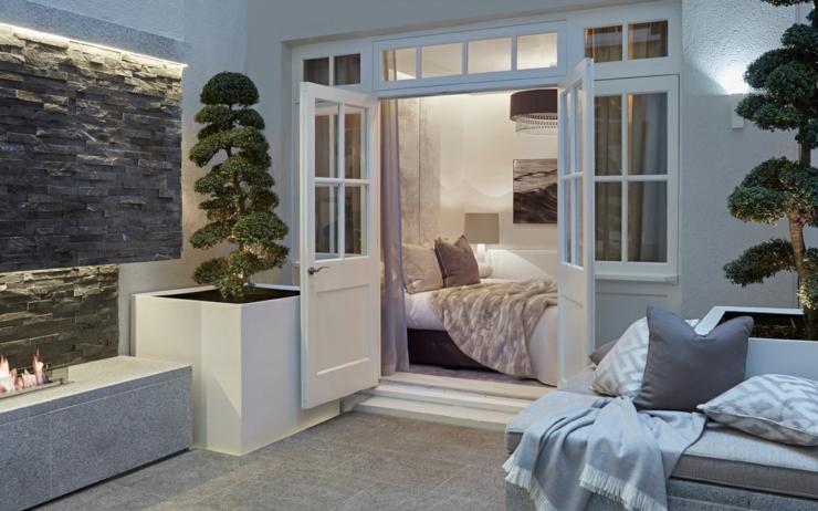 maison de ville l int rieur soyeux et l gant londres vivons maison. Black Bedroom Furniture Sets. Home Design Ideas