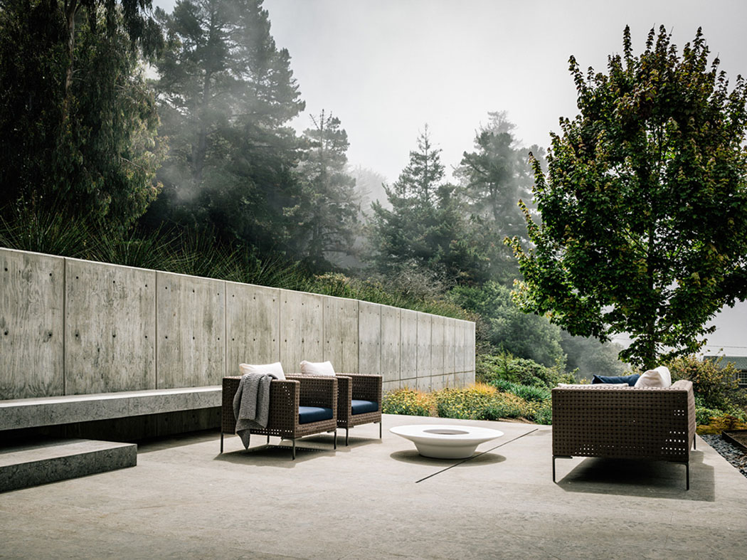 Magnifique maison contemporaine en californie avec une vue - Maison contemporaine fougeron architecture ...