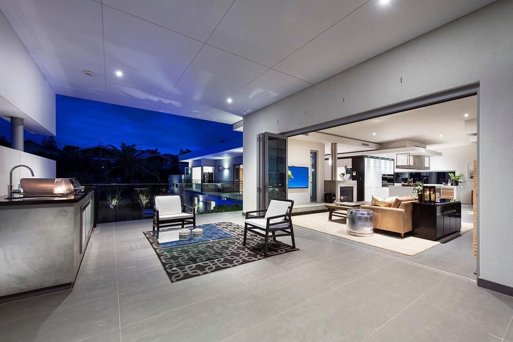 jolie maison contemporaine construite dans la ville australienne perth vivons maison. Black Bedroom Furniture Sets. Home Design Ideas