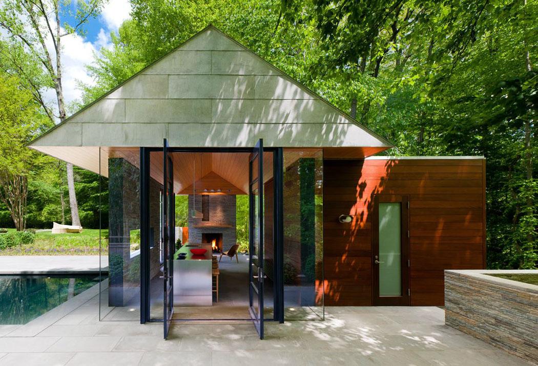 Populaire Petit pavillon résidentiel d'architecte proche de la ville de  CG07