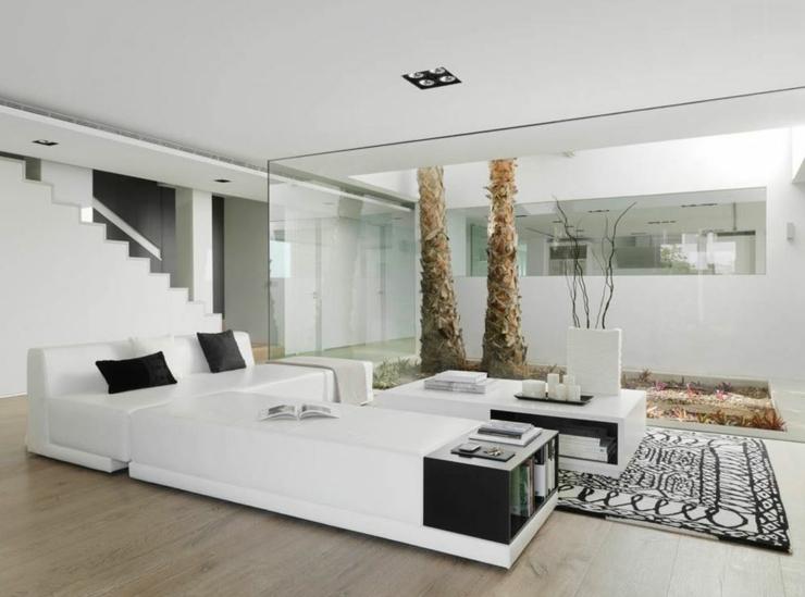 Salon Luxueux Moderne