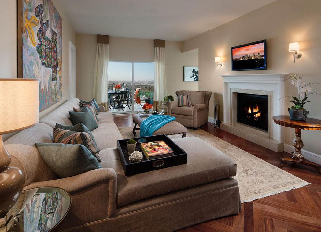 projets d appartement avec vue imprenable sur la ville. Black Bedroom Furniture Sets. Home Design Ideas