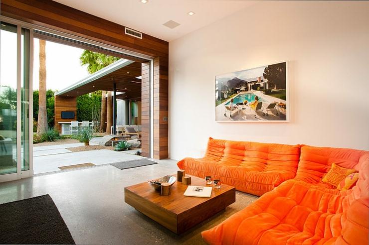 luxueuse maison de plain pied indian wells en californie vivons maison. Black Bedroom Furniture Sets. Home Design Ideas