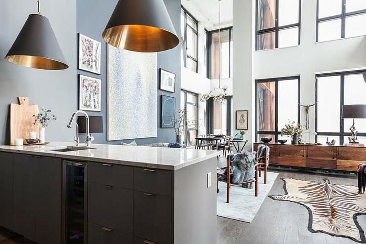 bel appartement brooklyn au design clectique vivons. Black Bedroom Furniture Sets. Home Design Ideas