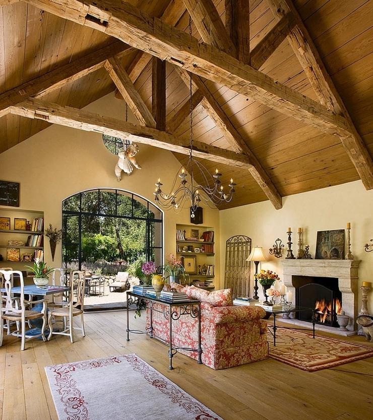 Belle maison rustique montecito californie vivons maison - Residence de luxe montecito santa barbara ...
