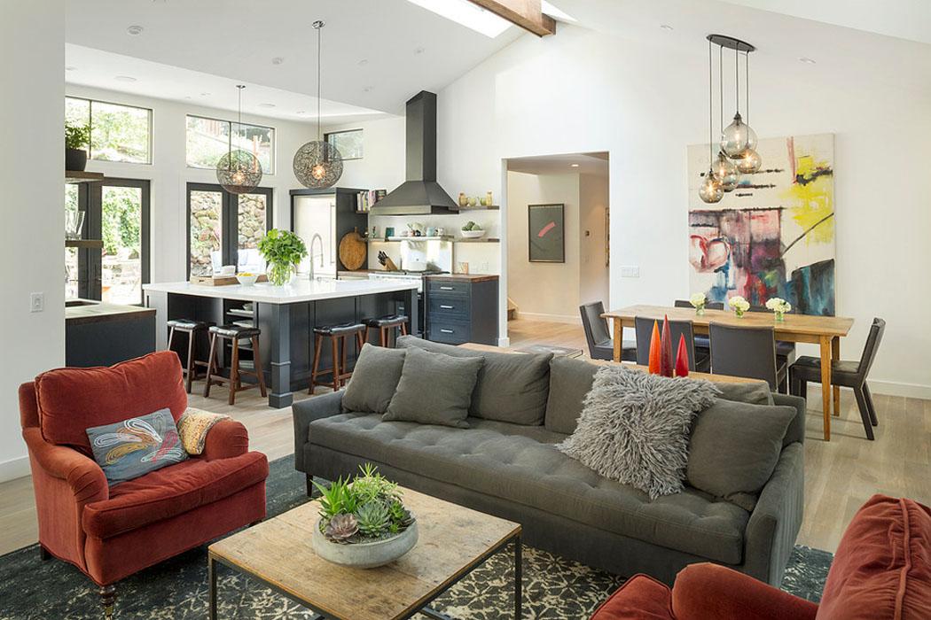 jolie maison familiale totalement r nov e dans les environs de san francisco vivons maison. Black Bedroom Furniture Sets. Home Design Ideas