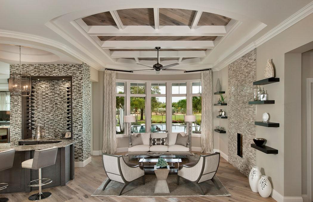 Luxueuse villa de r ve pour des vacances de tout confort sur la c te en floride vivons maison for Photos salons luxueux
