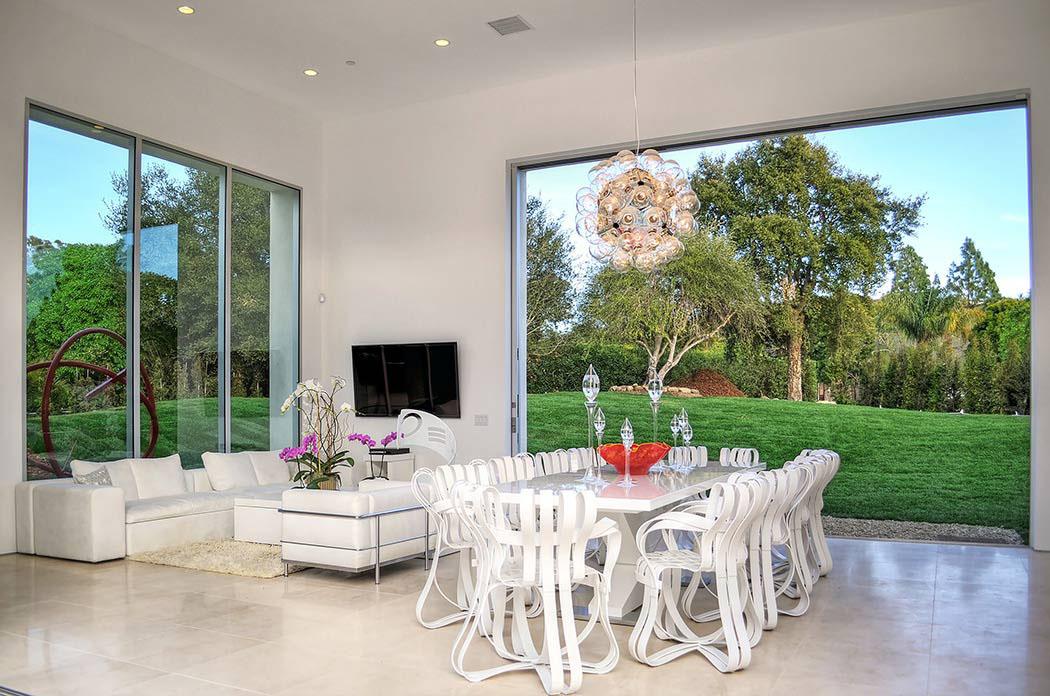 Moderne maison de prestige santa barbara en californie vivons maison - Residence de luxe montecito santa barbara ...