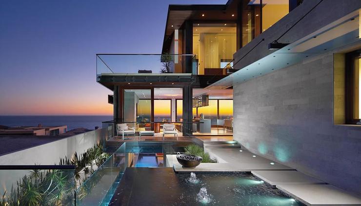 Contemporaine maison de vacances familiale sur la c te for Belle architecture moderne