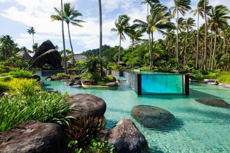 Vacances de luxe au complexe h telier fidjien laucala - Vacances de luxe laucala resort island ...