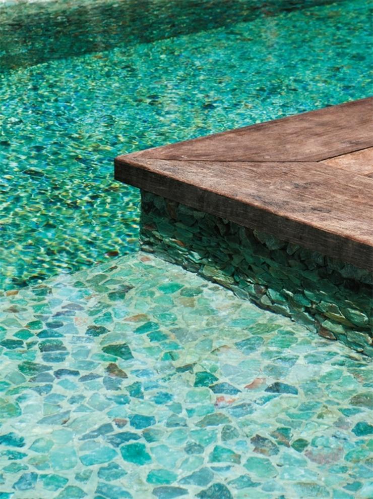 Maison de vacances au br sil l int rieur minimaliste for Piscine minimaliste