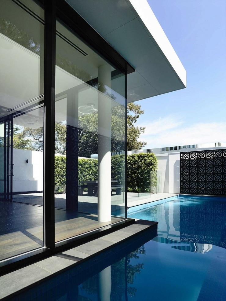 Maisons mitoyennes l architecture contemporaine vivons for Piscine brighton