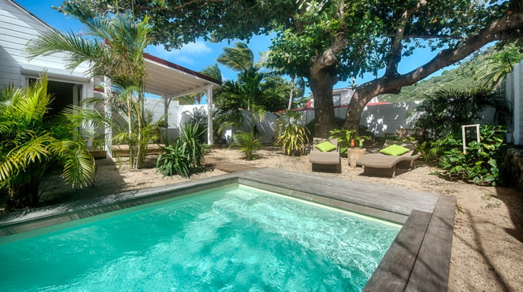 Location de vacances romantique shambala villas st martin vivons maison for Decoration des villas