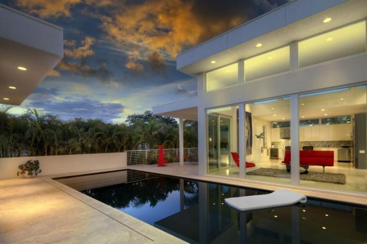 Architecture contemporaine pour une r sidence de luxe familiale vivons maison for Piscine design contemporaine