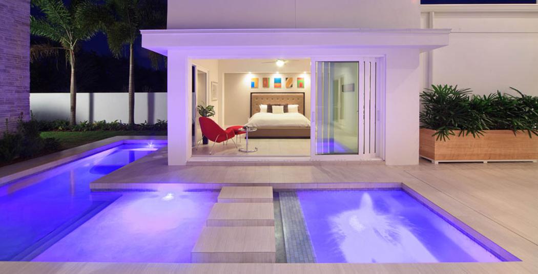 Belle maison d architecte pr s d un lac orlando - Residence de haut standing amsterdam marcel wanders ...