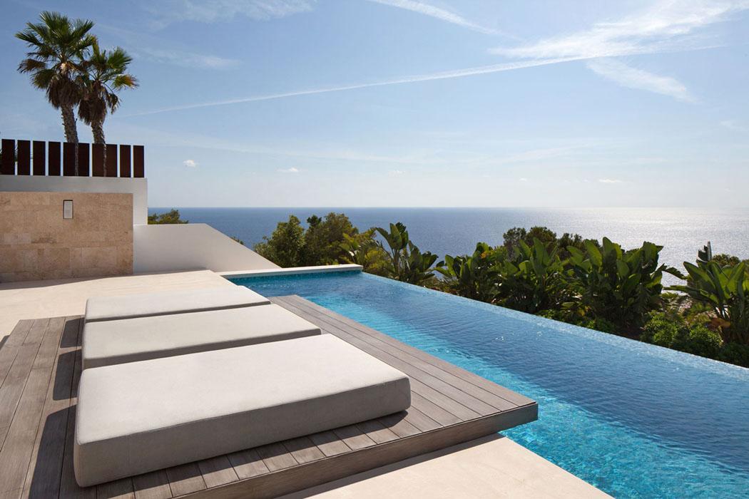 Magnifique R Sidence De Standing Dans Les Hauteurs D Ibiza Par Saota Vivons Maison