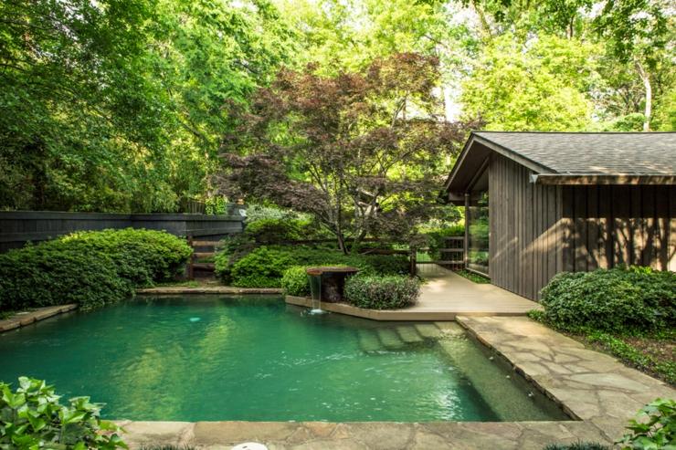 Magnifique maison de charme en arkansas tats unis for Architecture qui se fond dans le paysage