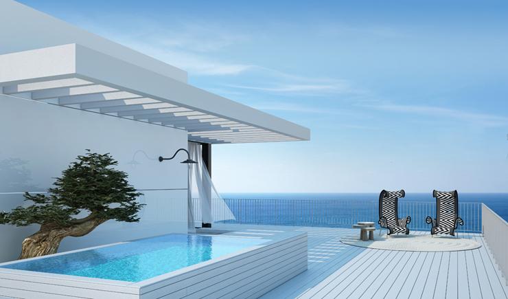 Appartement de luxe en construction sur la c te - Villa de luxe vacances miami j design ...