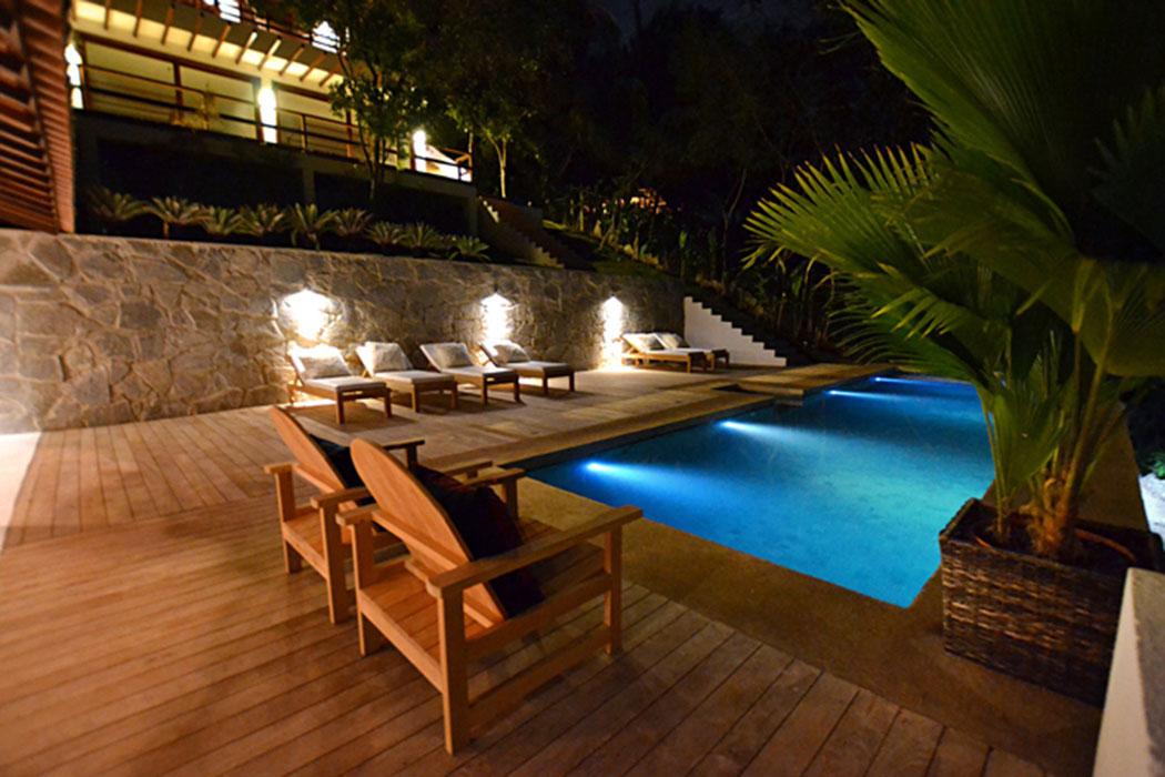 Belle villa louer au c ur de la for t exotique br silienne vivons maison - Piscine maison nuit limoges ...