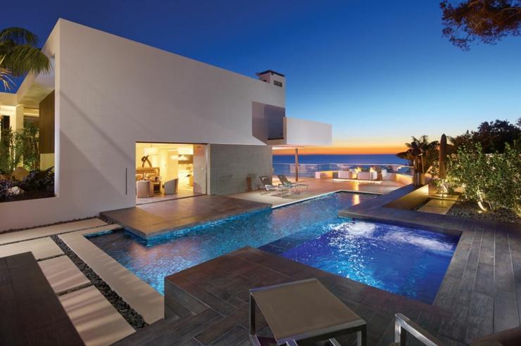 Tr s belle maison avec vue sublime en californie vivons - Residence de vacances gedney architecte ...