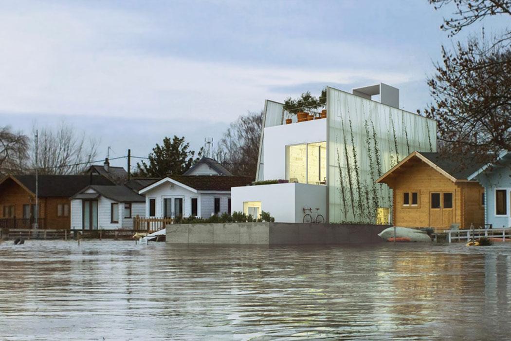 Projet cr atif de maison cologique flottante et - Erreurs que pratiquement tout le monde fait en design dinterieur ...