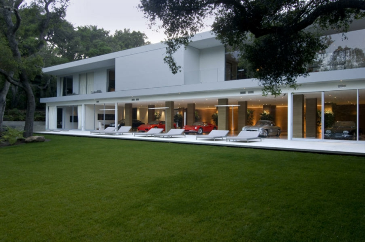 R sidence de luxe montecito santa barbara vivons maison - Maison contemporaine de grand standing singapour ...