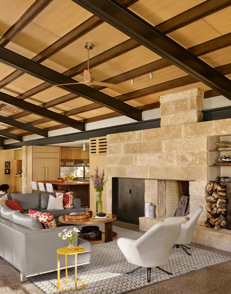 Beau ranch am ricain situ houston texas vivons maison for Interieur maison americaine