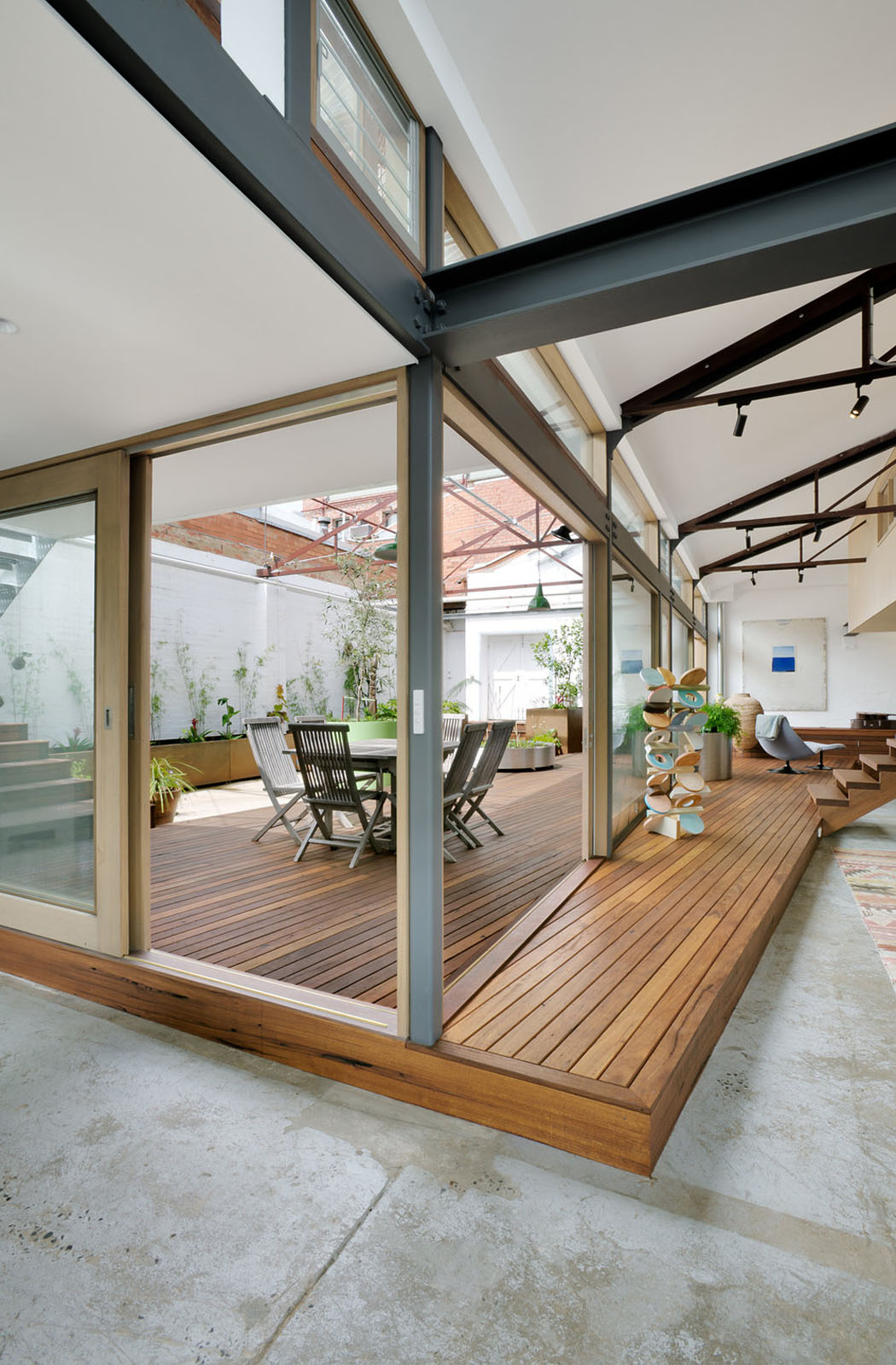 R Novation Loft Projet Cr Atif Et Original Au Centre De Melbourne Vivons Maison