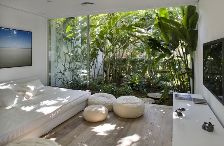 Maison de vacances l architecture contemporaine au br sil vivons maison - Decoration interieur zen et nature ...