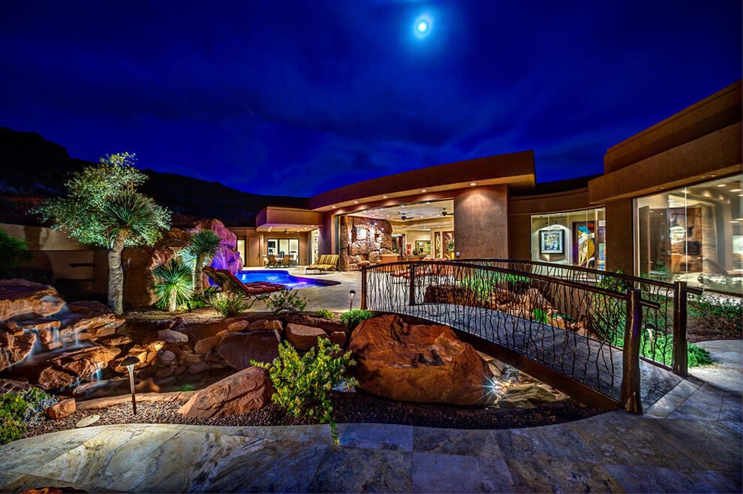 Belle maison au c ur du d sert dans l tat d utah vivons maison - Piscine maison nuit limoges ...