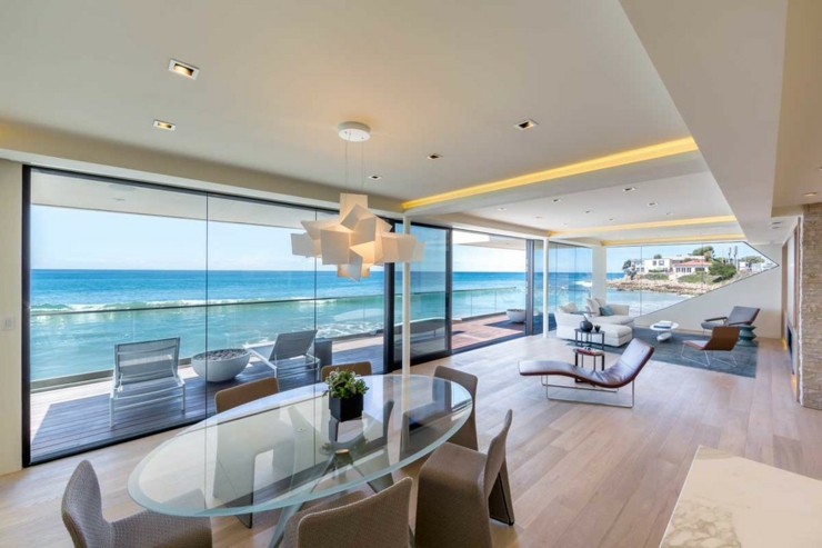 Maison d architecte de prestige malibu californie vivons maison - Deco maison de plage ...