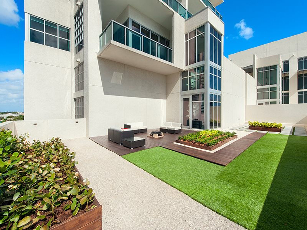 Bel appartement en duplex au design moderne situ miami for Residence luxe
