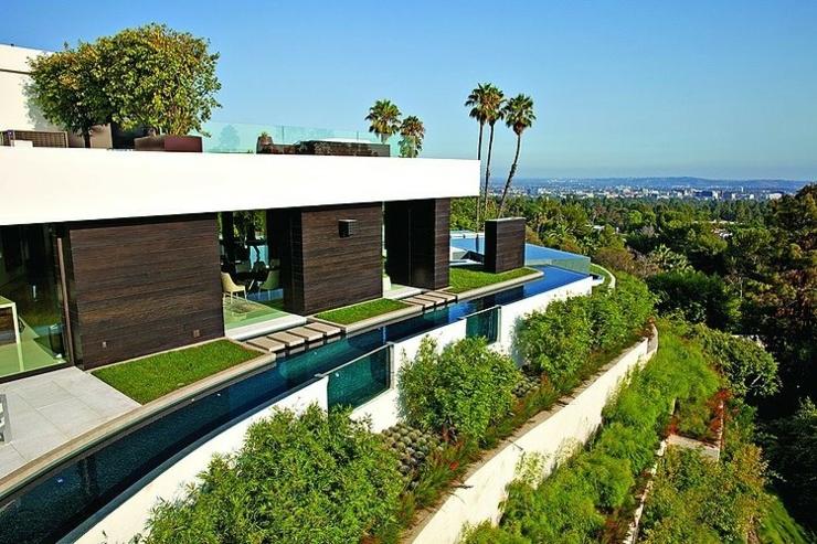 Best lueau qui fait le tour de cette trs belle maison with les plus belles maisons d architecte du monde