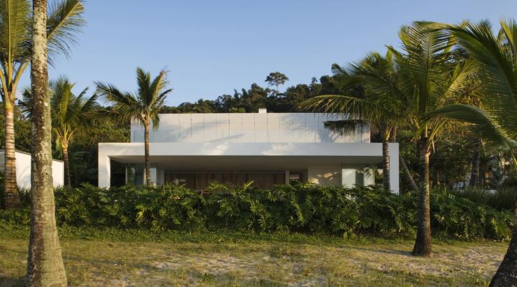Maison de vacances l architecture contemporaine au - Architecture contemporaine residence parks ...