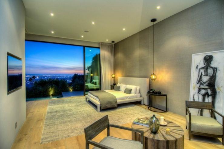 Chambre villa moderne design de maison for Chambre de luxe moderne