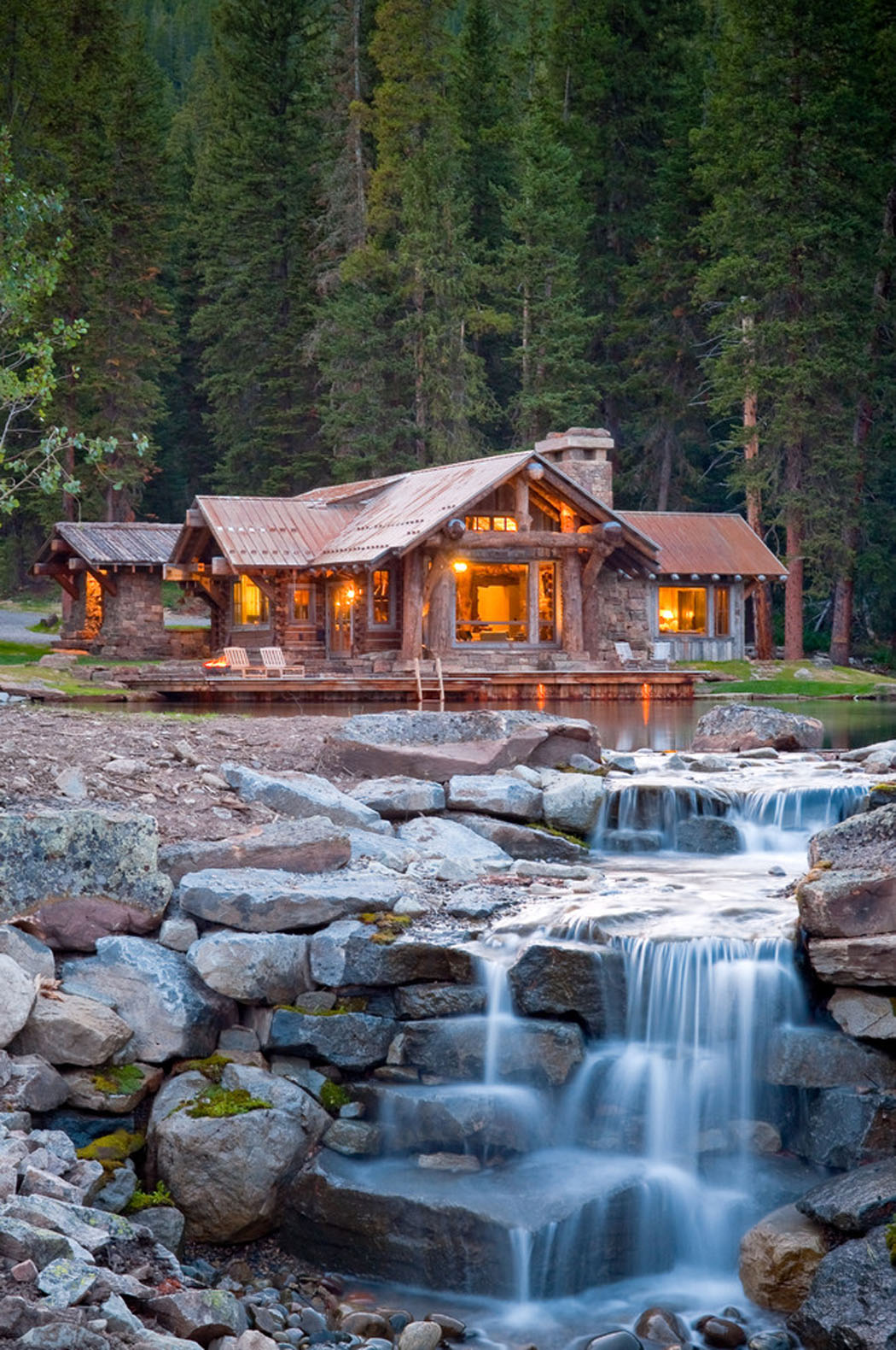 Belle maison rustique situ e au c ur d un paysage de - Residence de vacances gedney architecte ...