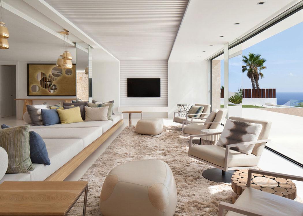 Magnifique r sidence de standing dans les hauteurs d ibiza par saota vivons maison - Interieur minimaliste villa de vacances block ...