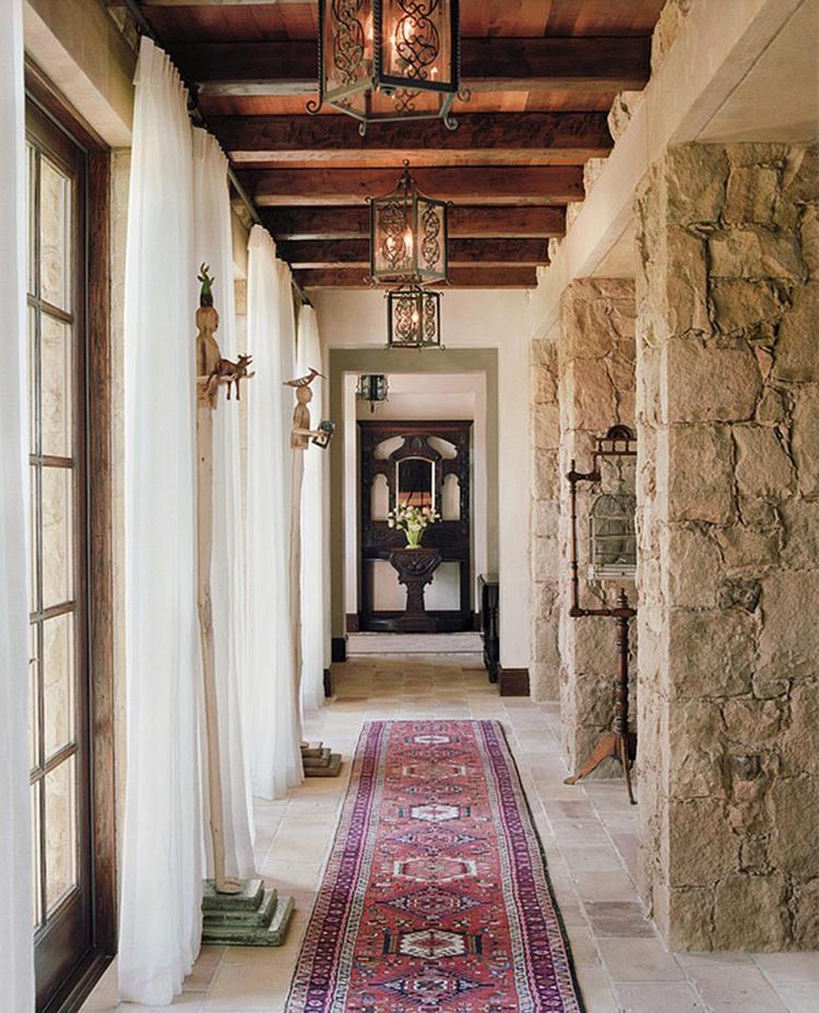 Couloirs de cette maison de charme rustique