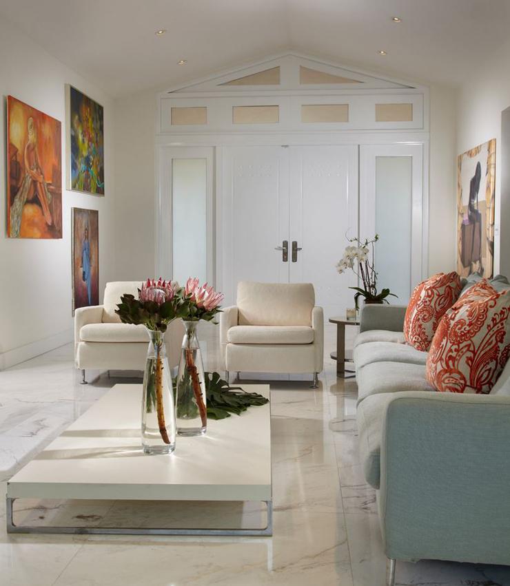 Villa de luxe au design clectique sur la c te en floride for Decoration interieur villa luxe