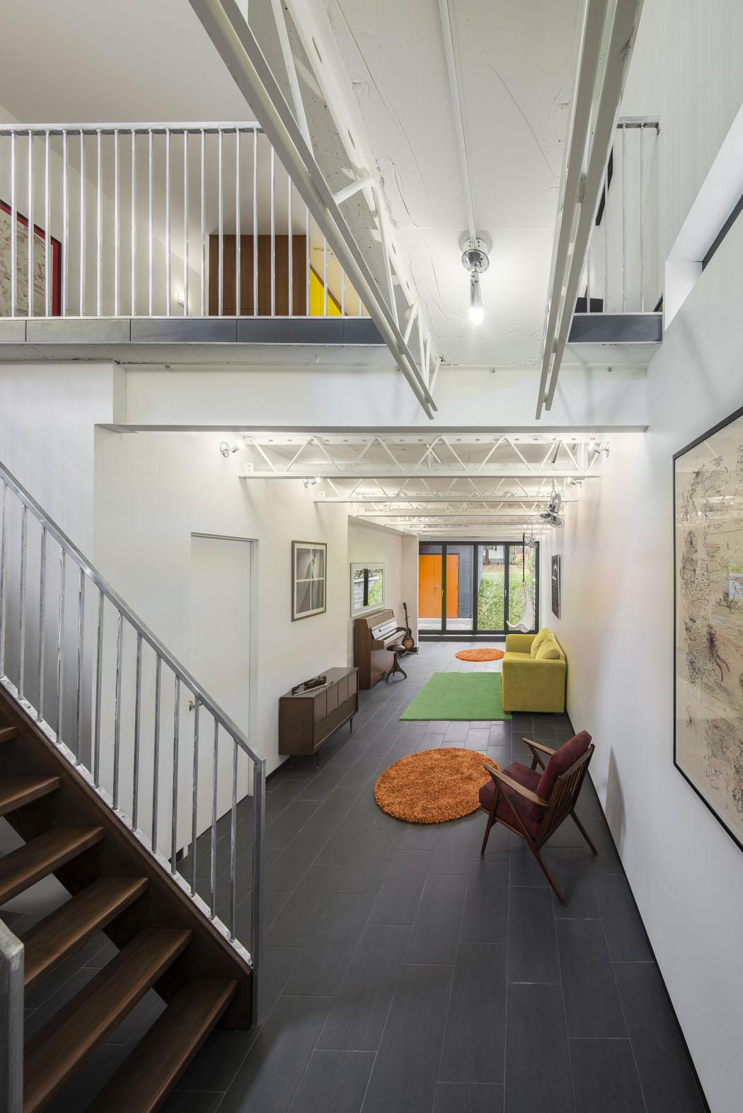 Narrow Townhouse Plans