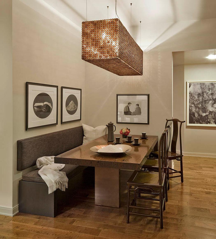 Bel appartement de luxe avec vue imprenable sur le paysage - Coin bureau dans salle a manger ...