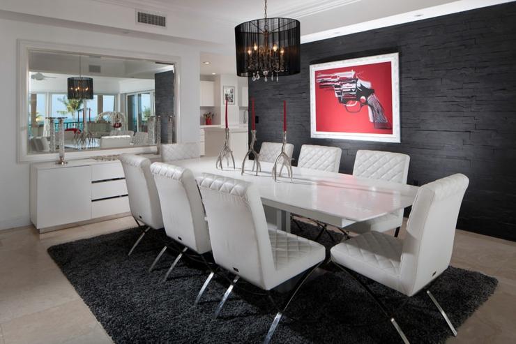 Appartement de luxe pour des vacances uniques miami for Table de salle a manger luxe