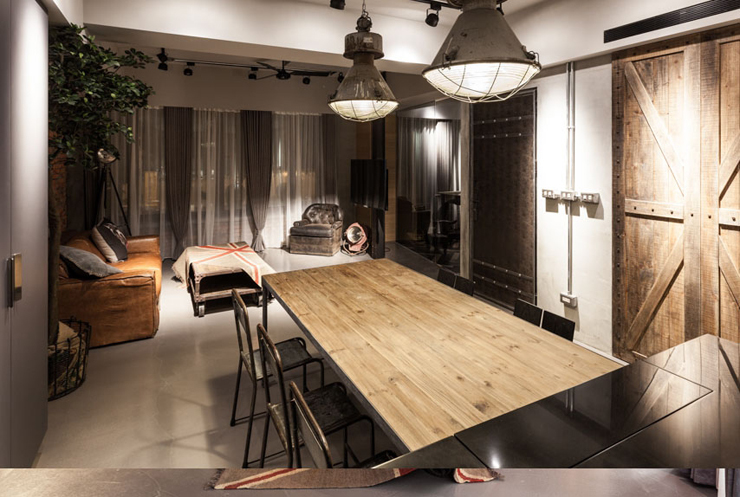 Ameublement design luxe appartement familiale