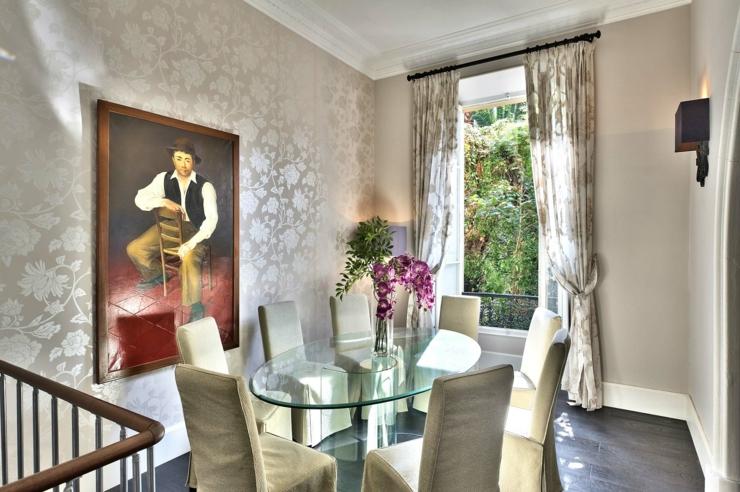 Appartement de luxe la d coration chic bourgeois for Salle a manger de luxe design