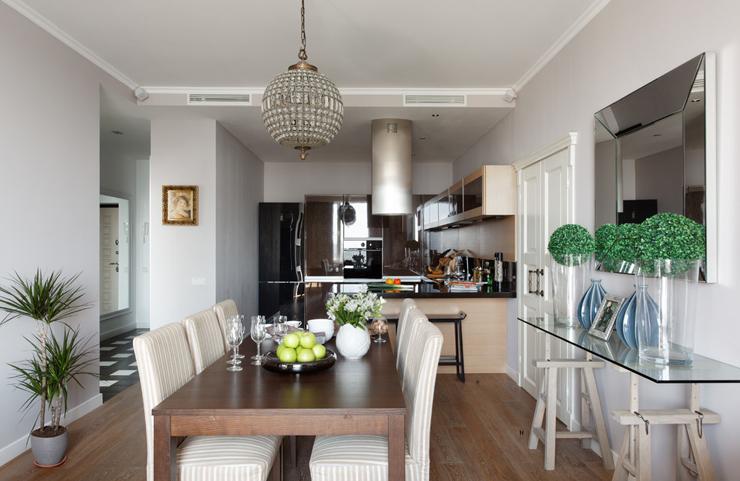 Bel Appartement Au Design Moderne Et Accueillant Moscou